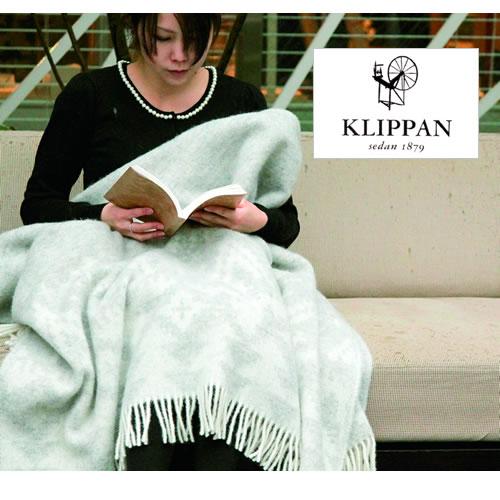【正規輸入品】NEW! KLIPPAN クリッパン ウール スローケット ザ フォレスト(the forest) (130×200cm/ライトグレー、ダークグレー)【楽ギフ_名入れ】 ギフト ブランケット