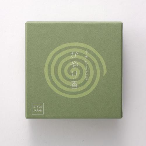 メール便OK STYLE JAPAN 小さな小さなかやり香 5枚入 除虫菊ベース 定番から日本未入荷 開店祝い