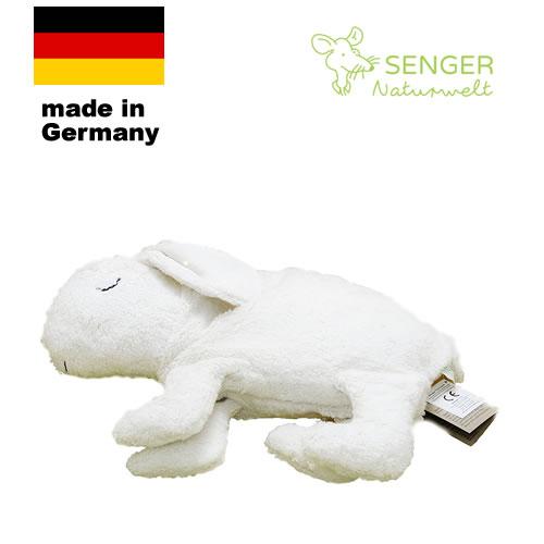 【送料無料】ヒーリングピロー うさぎ(白)Sサイズ【ゼンガー/SENGER】 センガー ホットパック オーガニック コットン cuddly rabbit