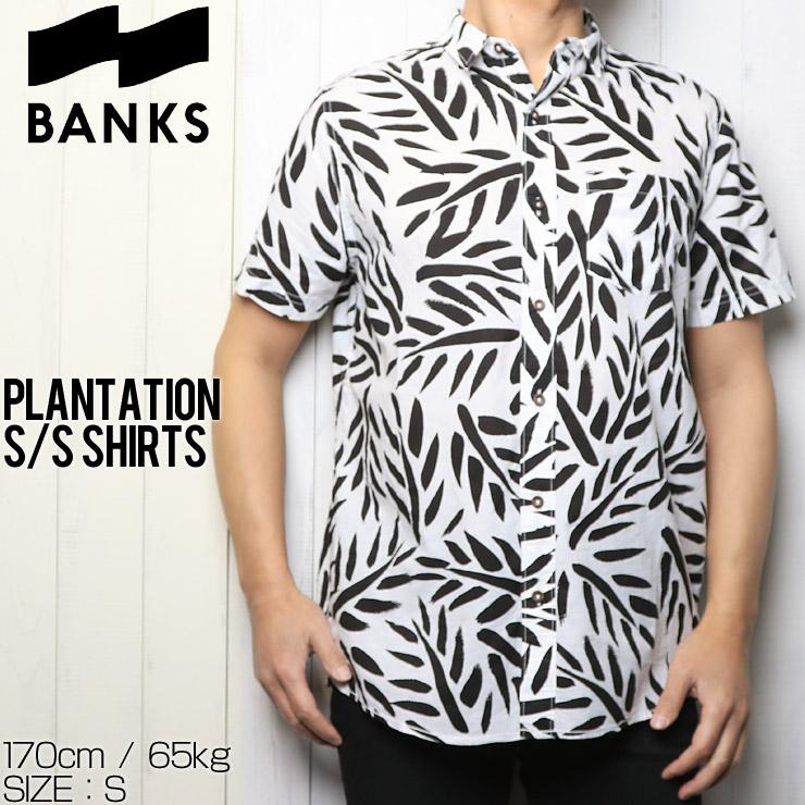 [クリックポスト対応] BANKS バンクス PLANTATION S/S SHIRTS 半袖シャツ WSS0086L