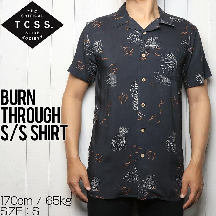 [クリックポスト対応] TCSS ティーシーエスエス BURN THROUGH S/S SHIRT 半袖シャツ SS1310