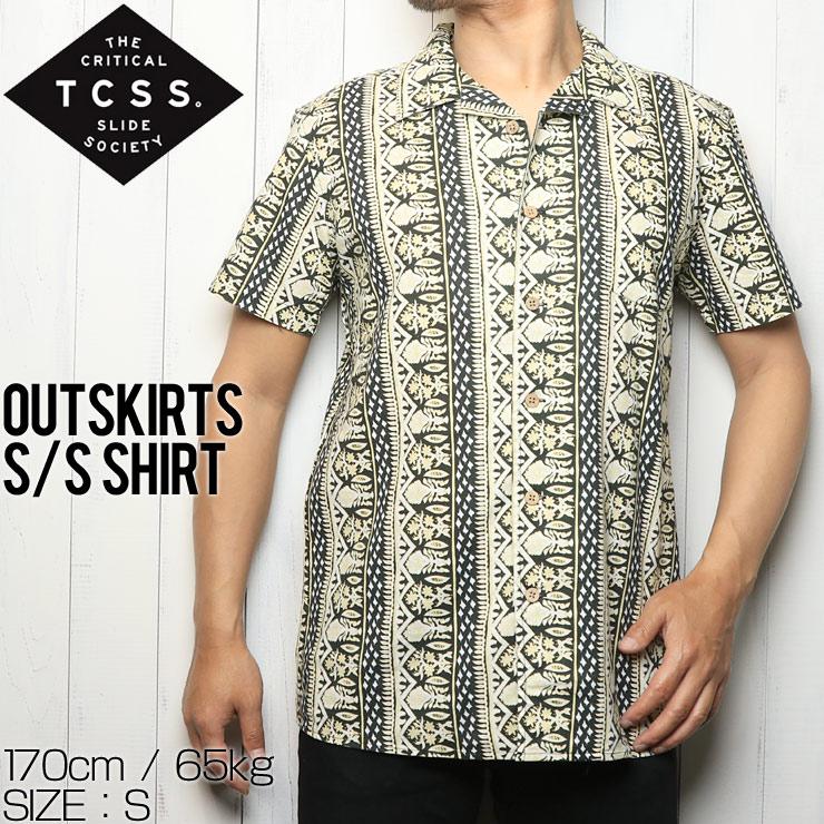 [クリックポスト対応] TCSS ティーシーエスエス OUTSKIRTS S/S SHIRT 半袖シャツ SS1842