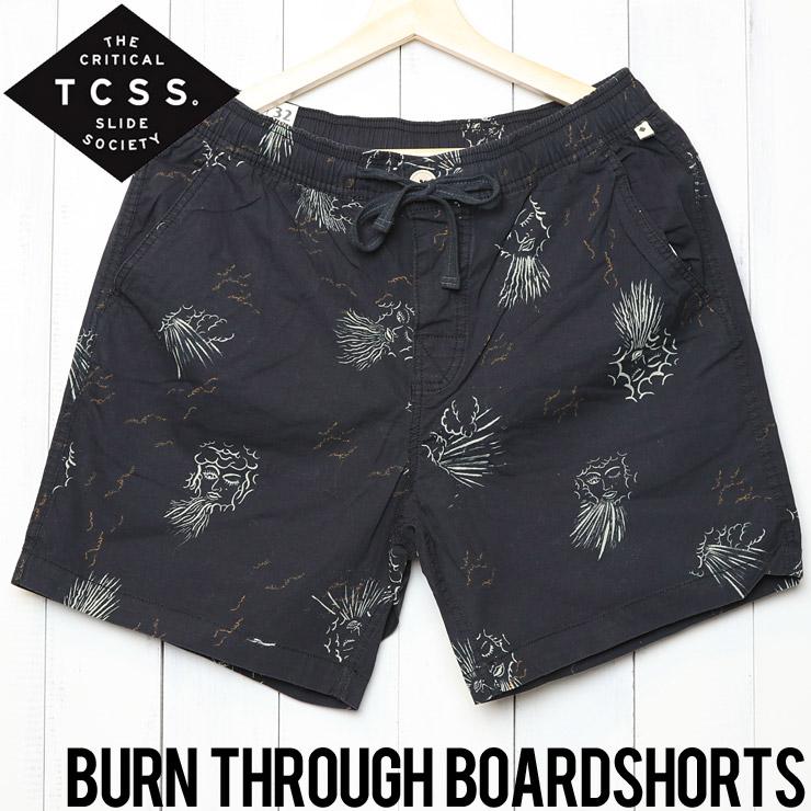 [クリックポスト対応] TCSS ティーシーエスエス BURN THROUGH BOARD SHORTS ボードショーツ BS1865