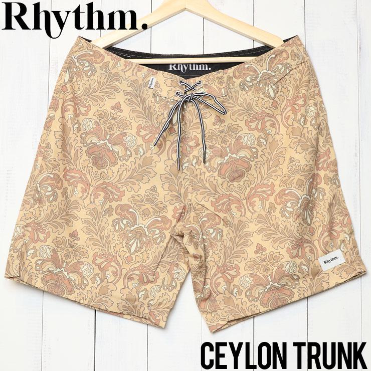 [クリックポスト対応] Rhythm リズム CEYLON TRUNK ボードショーツ APR19M-TR07