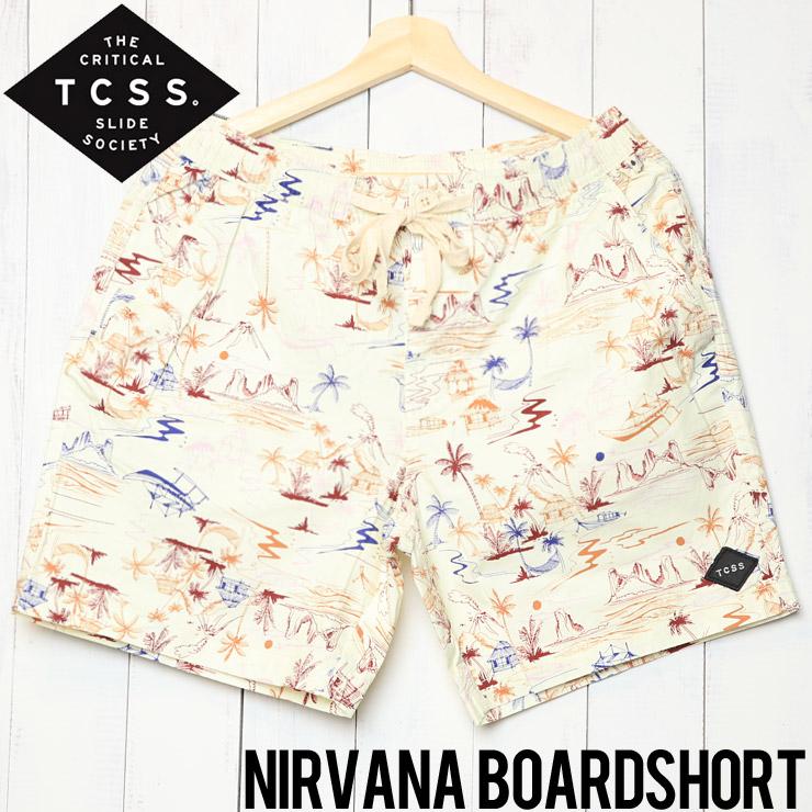 [クリックポスト対応] TCSS ティーシーエスエス NIRVANA BOARD SHORT ボードショーツ BS1893