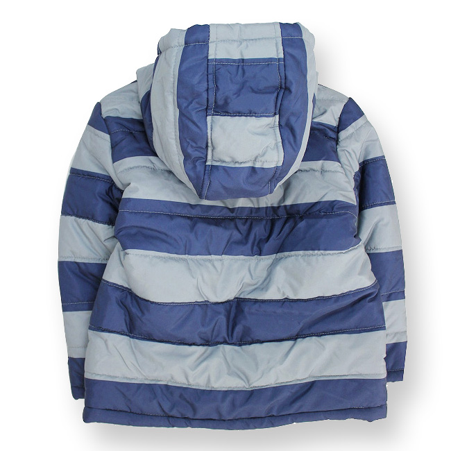 Outer children's clothes jacket kids Jr. boy navy & horizontal stripe 110 120 130 140 150cm with Jinbo Lee GYMBOREE cotton