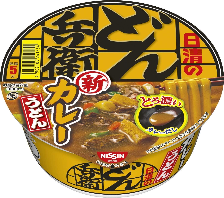 【Go In Eat】日清食品 どん兵衛 カレーうどん [西] 87g×12個