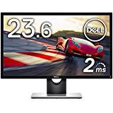 Dell ゲーミングモニター 23.6インチ FPS向き/2ms/フルHD/TN 非光沢/フリッカーフリー/HDMIx2,D-Sub SE2417HG