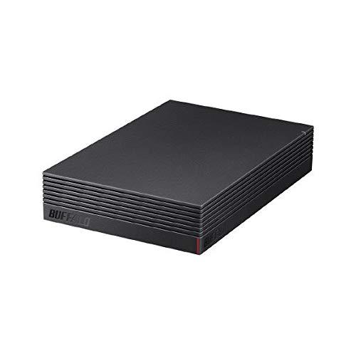 バッファロー パソコン&テレビ録画用外付けハードディスク 4.0TBUSB3.1(Gen1)/USB3.0用 外付けHDD(ファンレス・防振・音漏れ低減)BUFFALO HD-EDS-Aシリーズ HD-EDS4.0U3-BA