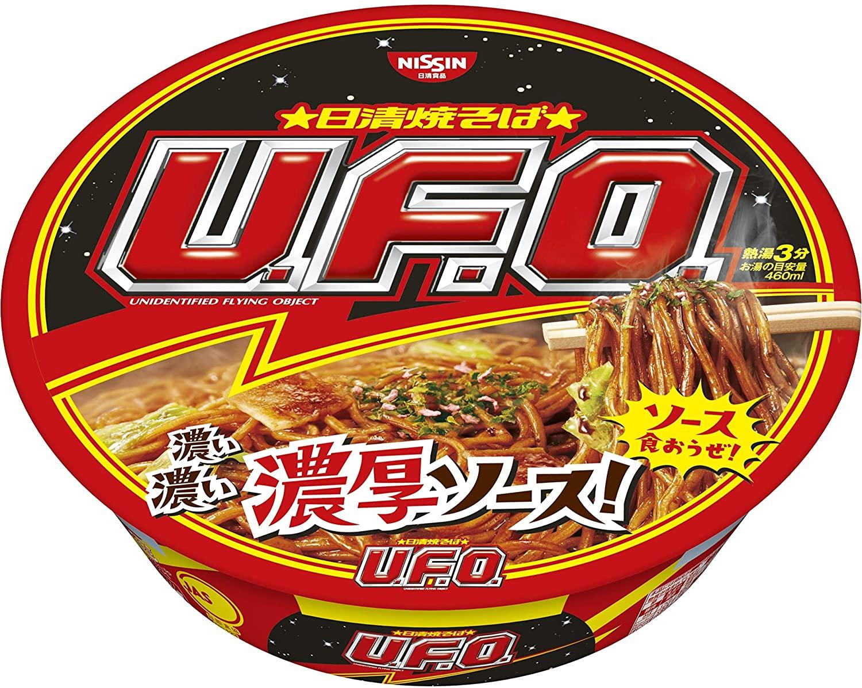 【Go In Eat】日清食品 焼そばU.F.O. 128gx2個