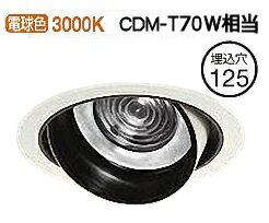 大光電機 ユニバーサルダウンライト(電源別売)LZD93125YWN受注生産品工事必要