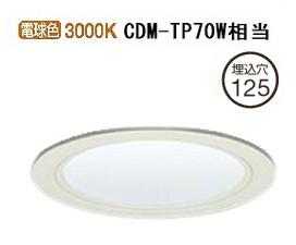 大光電機ダウンライト 電源別売LZD92334YWF