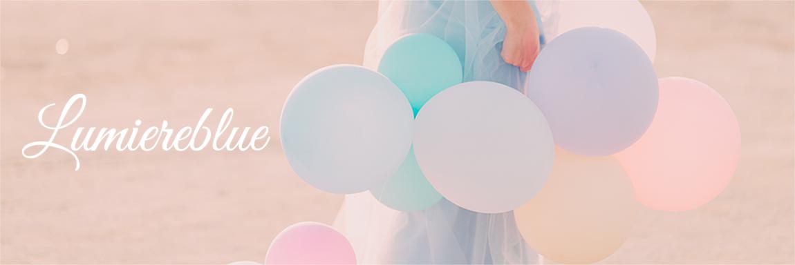 海外デザイン雑貨 Lumiereblue:結婚式やお誕生日会!写真映えする簡単で可愛い飾りつけなら。Lumiereblue