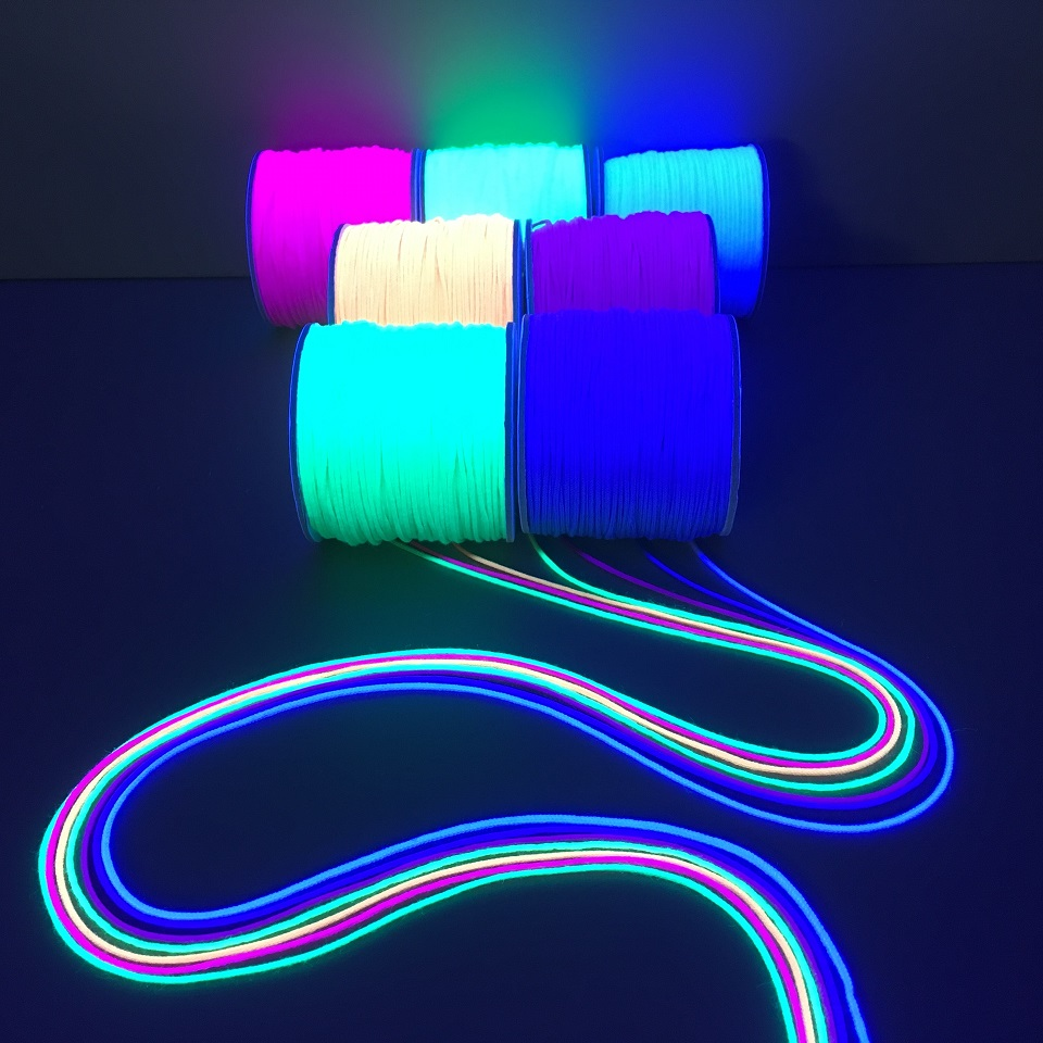 Lumio Some 1 2 Millimeters Of Fluorescence Braid String Thin