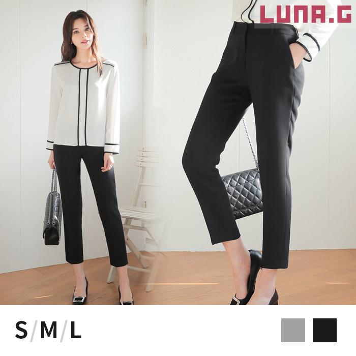 Luna G Tapered Pants Lady S Slacks Stretch Pants Beauty Leg