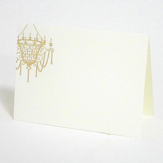 【高級シリーズ ITALY】シャンデリア 席札(10名様分)【手作り 結婚式 二次会 1.5次会】