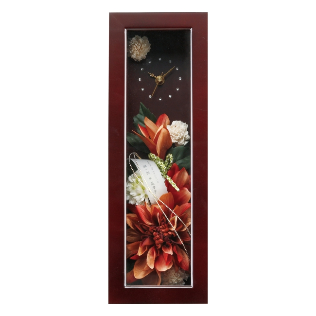 和華 Style Clock【時計 記念品 ギフト 結婚式 母の日 誕生日 造花】