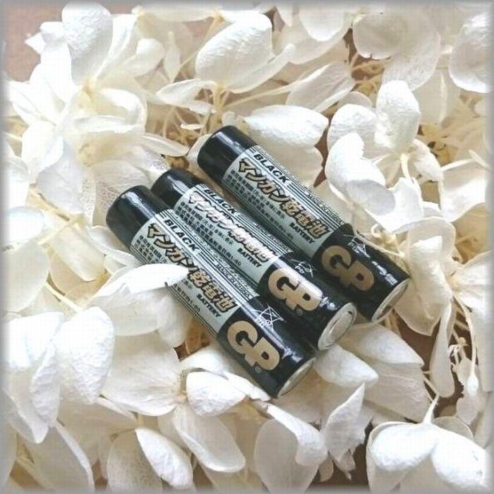 売れ筋ランキング LED台座と同梱包なら送料無料 マンガン電池 単4形 メーカー直送 液漏れしにくい長持ちマンガン乾電池 3本セット