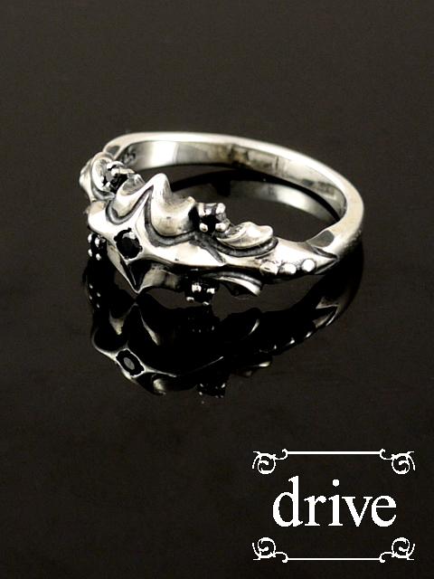 drive[シャイニースピア リング](シルバーアクセサリー/シルバー925/Silver925/ゴシック/攻撃/攻撃的ゴシック/ドライブ/ドライヴ/リング/指輪/メンズ/レディース/ユニセックス/クロス/十字架/ルビー/槍)