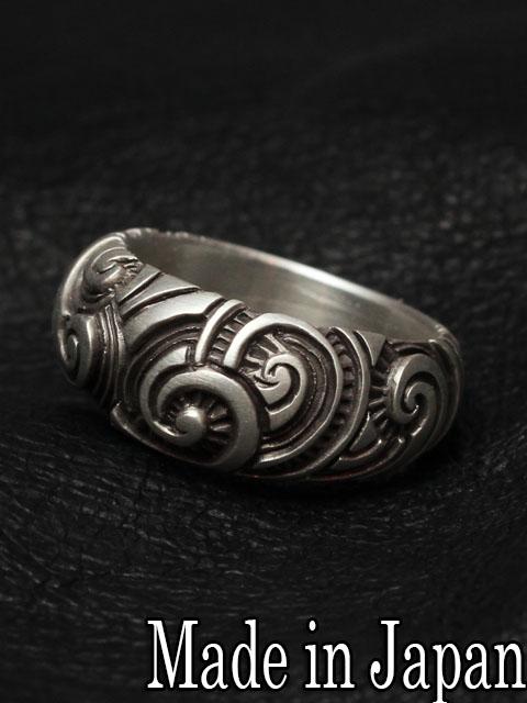 Dual Flow[mixture tribal ring] (シルバーアクセサリー/シルバー925/Silver925/デュアルフロウ/リング/指輪/メンズ/レディース/ユニセックス/トライバル/刺青/Dualflow)