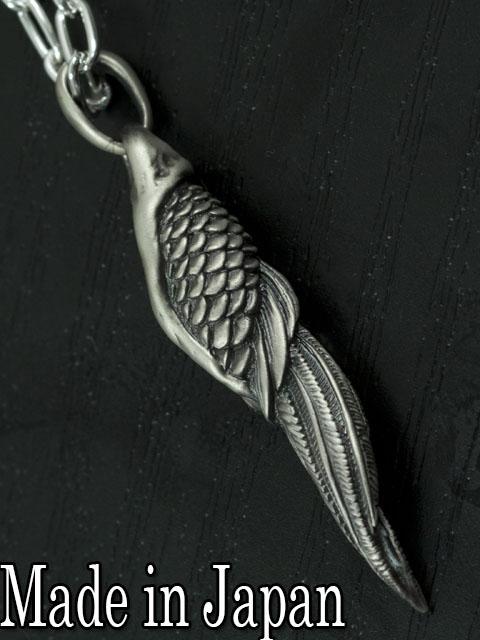 Dual Flow[鳳凰の羽 pendant] (シルバーアクセサリー/シルバー925/Silver925/デュアルフロウ/ペンダント/ネックレス/メンズ/レディース/ユニセックス/鳳凰/フェニックス/Dualflow)