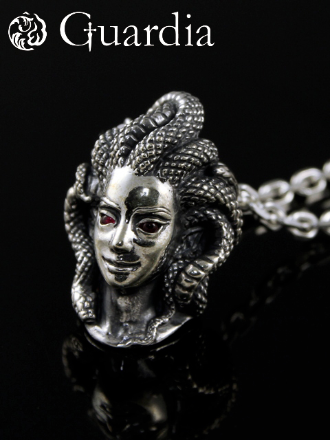 Guardia[Medusa] (シルバーアクセサリー/シルバーアクセ/シルバー/シルバー925/Silver925/銀/ガルディア/ペンダント/ネックレス/メンズ/レディース/ユニセックス/メデューサ)
