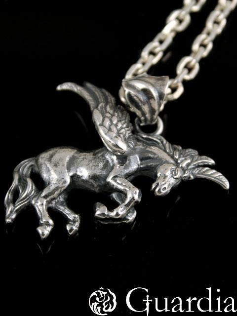 Guardia[Pegasus] (シルバーアクセサリー/シルバーアクセ/シルバー/シルバー925/Silver925/銀/ガルディア/ペンダント/ネックレス/メンズ/レディース/ユニセックス/ペガサス)