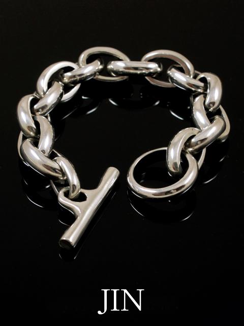 JIN  [ HARD LINK BRACELET] シルバーアクセサリー ブレスレット SASUKE