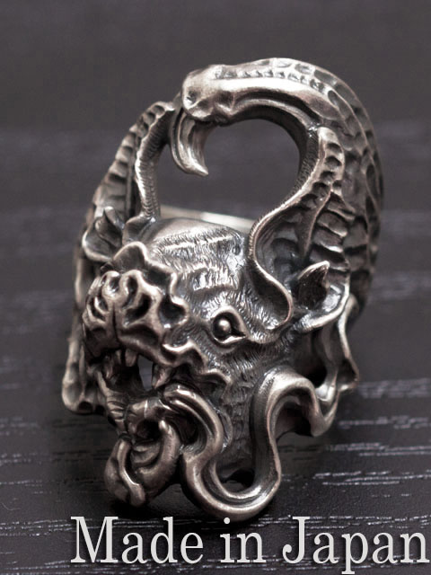 LegioMade[チスイコウモリ](シルバーアクセサリー/シルバー925/Silver925/レギオメイド/リング/指輪/メンズ/パーン)