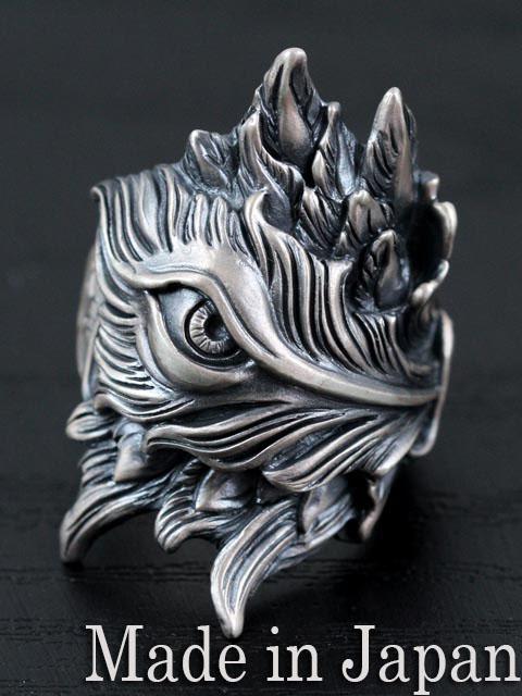 LegioMade[ブロッサム](シルバーアクセサリー/シルバー925/Silver925/レギオメイド/リング/指輪/メンズ/パーン)