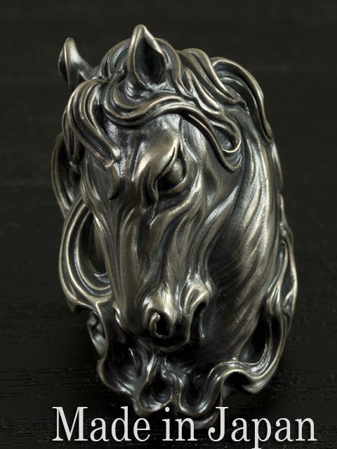 LegioMade[馬 リング] (シルバーアクセサリー/シルバー925/Silver925/レギオメイド/リング/指輪/メンズ/)