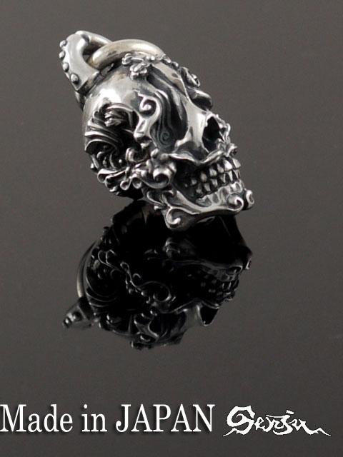 SenjuPT-3[ultra baroque skull](スカルペンダント/シルバーアクセサリー/シルバー925/Silver925/千手/千手観音/ネックレス/ペンダント/メンズ/レディース/ユニセックス/スカル/骸骨/ドクロ/和物/センジュ/)