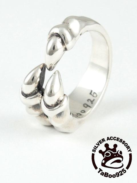 TaBoo925[トリプルクローリング] (シルバーアクセサリー/silver925/爪/リング/指輪/タブー/銀/メンズ/ユニセックス/クロウ)