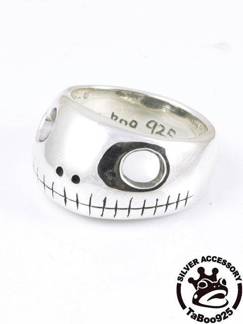 TaBoo925[オタマスカルヘッドリング] (シルバーアクセサリー/silver925/リング/シルバーアクセ/銀/メンズ/レディース/ユニセックス/蛙/カエル/かえる/おたまじゃくし)