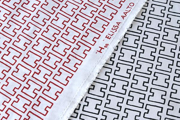 Fabric artek Altec H55 Scandinavian fabrics sold by 10 cm.