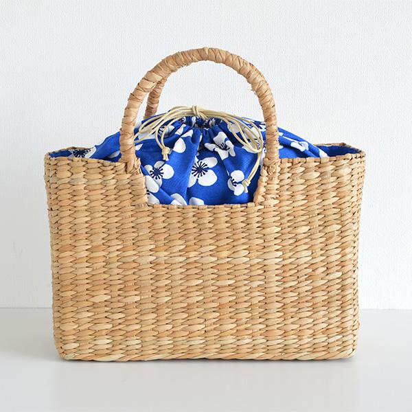 ac00b3378f7c スクエアバスケット かごバッグ almedahls アルメダール Belle amie ベラミ バンクァン素材 かごバッグ