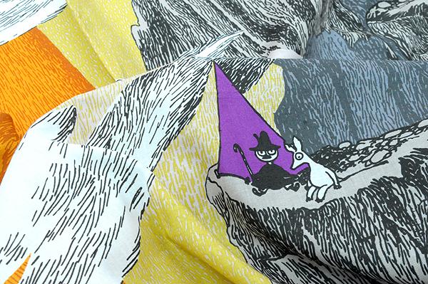 生地 布 cocca for moomin colection 選択 東京発のテキスタイルブランド スーパーSALE セール期間限定 コッカ リピート売り ムーミンコレクション ムーミン谷 約59cm