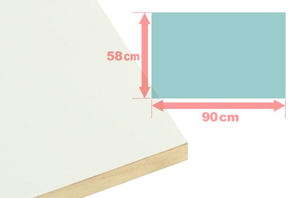 【手作り用】 ヌードパネル 90×58×2.7cm ウッドパネル