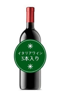 【送料無料】クリスマス福袋 イタリアワイン3本入り