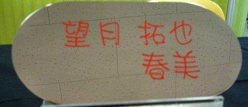 鏡面加工を施したステンレスの板にカッティングシートで文字を張ります 仕上がりも美しく個性的なデザインも楽しむことが出来ます 買収 信憑 220×110丸サイズ ステンレス鏡面加工表札