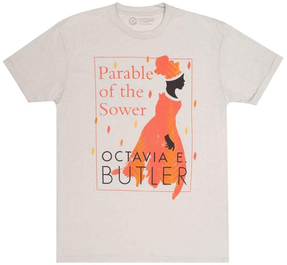 アウトオブプリント ブックカバーTシャツ Out of メイルオーダー Print Octavia E. Butler Parable the Tee - オクティヴィア ランキングTOP5 Tシャツ バトラー Sower E Sand