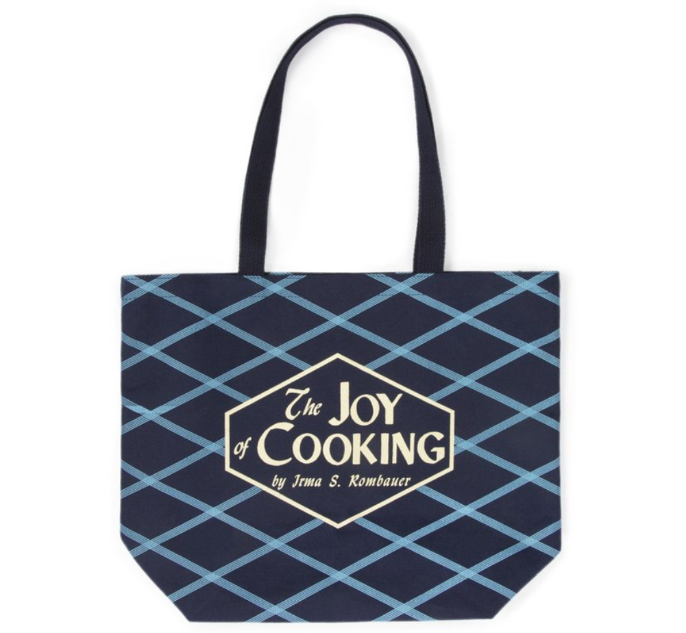 Irma S  Rombauer/The Joy of Cooking Tote Bag (Navy)