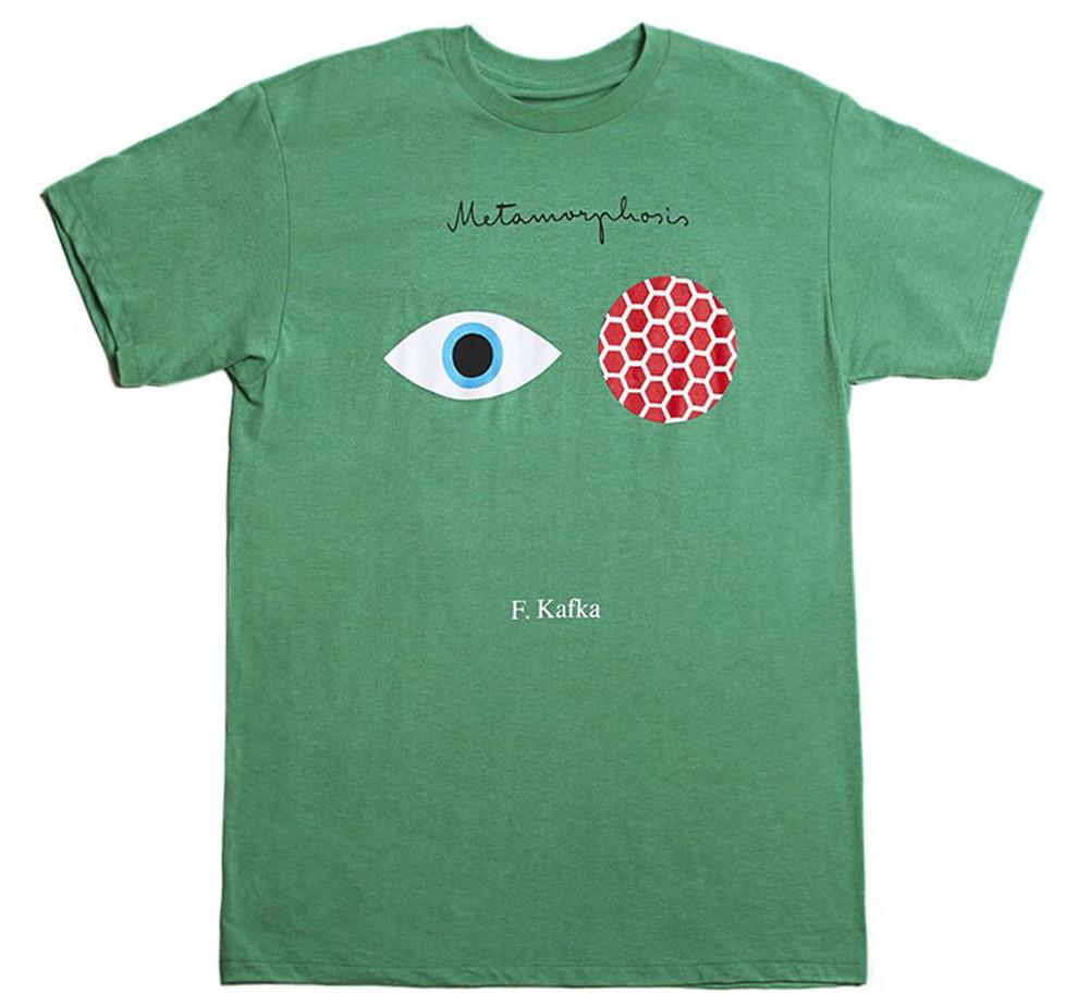フランツ カフカ 変身 1915 Tシャツ Out of Print Tee Kafka Green Franz 格安 The Kelly Metamorphosis 送料無料 激安 お買い得 キ゛フト Heather