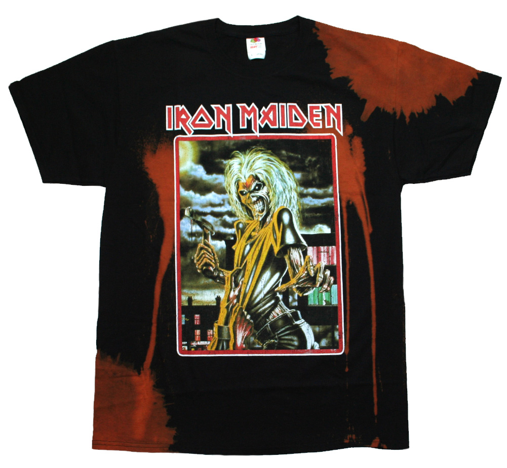 Iron Maiden / Killers Tee (Black / Bleach)
