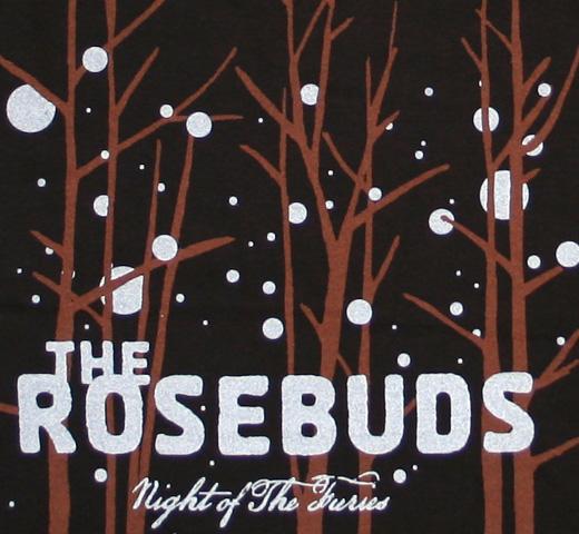 ローズバッド 新発売 ロック バンド Tシャツ 〔UNSX〕 The of 奉呈 Furies Night Tee the Rosebuds