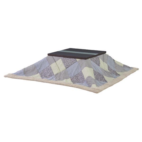 東谷 薄掛コタツ布団 正方形 KK-113 サイズ:W190 × D190 cm 対応天板サイズ 80×80cm以下