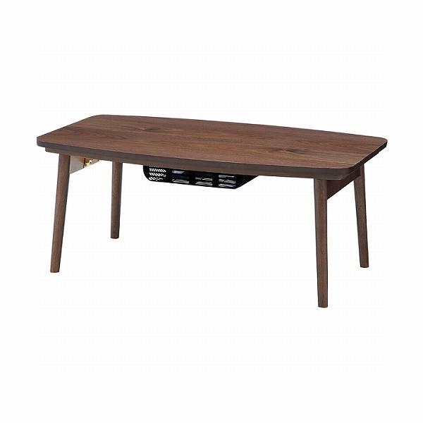《東谷(あずまや)》こたつ エルフィ901WAL ウォルナット 長方形 幅90cm[Elfy/こたつ/コタツ/座卓/センターテーブル/リビングテーブル/ちゃぶ台/インテリア/家具/おしゃれ]