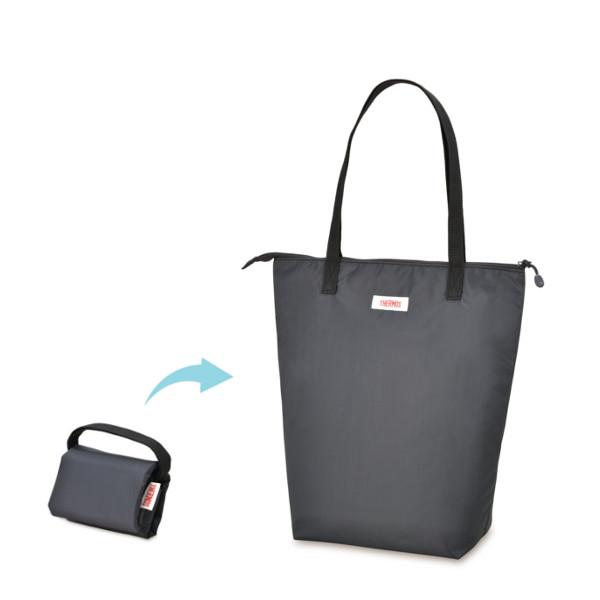 市場 合計10 000円以上ご購入で送料無料 サーモス 保冷ショッピングバッグ お歳暮 REV-012 エコバッグ DGY THERMOS 買い物バッグ ダークグレー