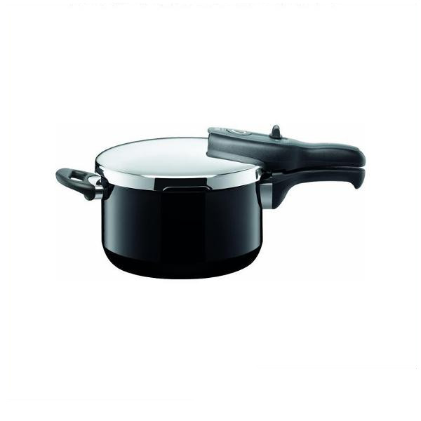 《silit(シリット)》tプラス圧力鍋 4.5L ブラック S8225250014