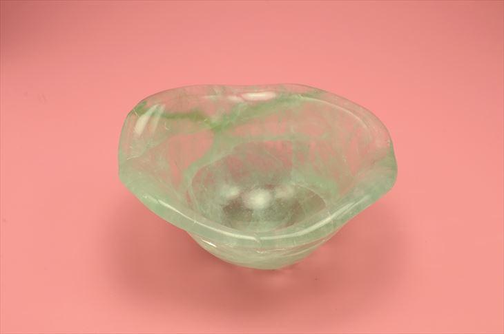 グリーンフローライト ボール 置物 天然石 パワーストーン 食器